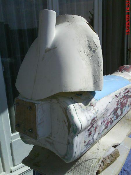 Fabrication du master du Némésis