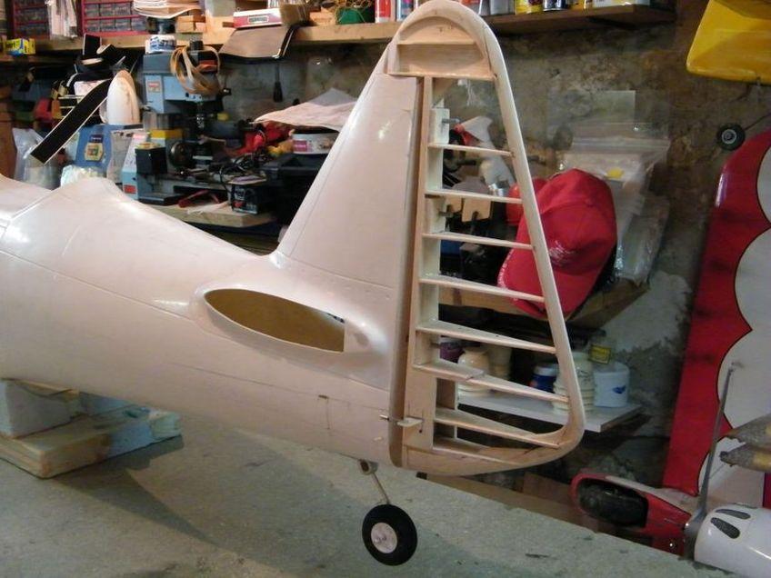 La construction de mon T-6, 1ère partie