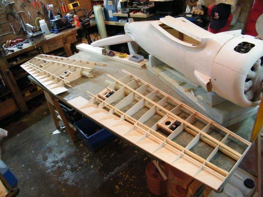 La construction de mon T-6, 2ème partie