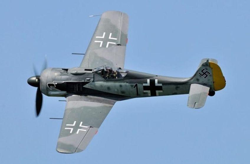 FW 190 2ème partie, moulage de la trappe