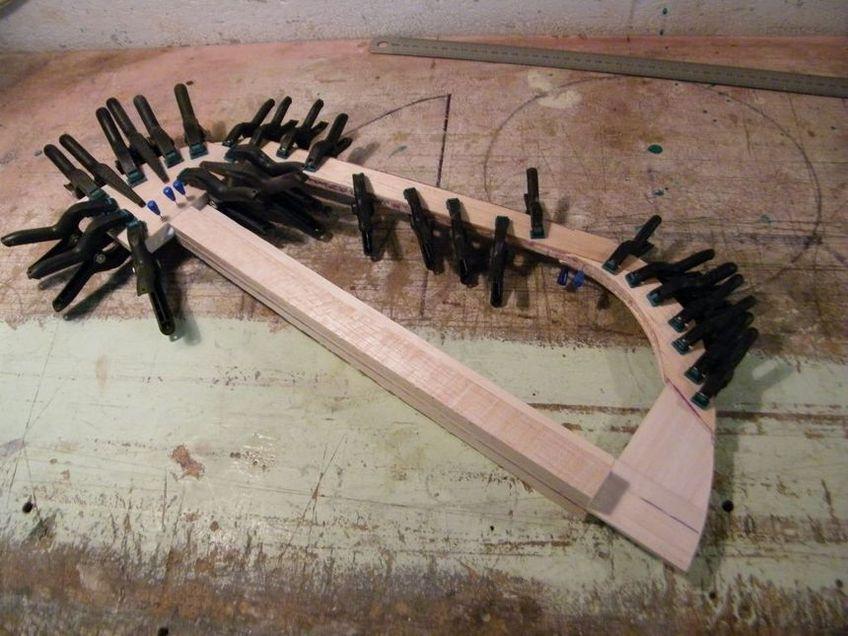 FW 190 4ème partie, construction stabilisateur et dérive