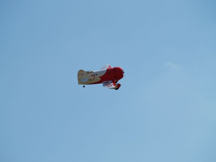 Le Gee-Bee R-2 de Christophe