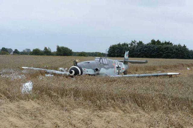 Landing Me-109