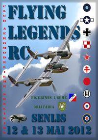 Rencontre WARBIRDS FLYING LEGENDS RC à Senlis (60)