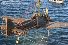 Epave FW 190 retrouvé en mer de Norvège
