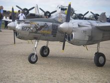 P-38 Little Buck George BUCHANAN