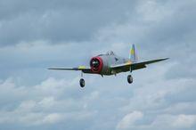 1er vol du P-47 de Gilles WATELET