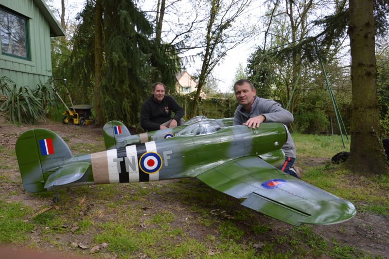 Hawker Typhoon Baudin air Plane Compagny 10