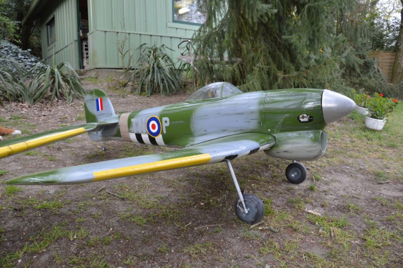 Hawker Typhoon Baudin air Plane Compagny 1