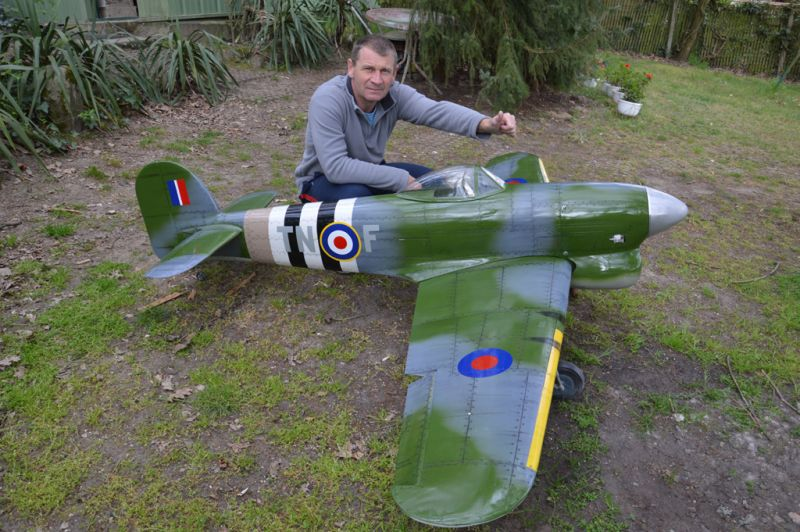 Hawker Typhoon Baudin air Plane Compagny 2