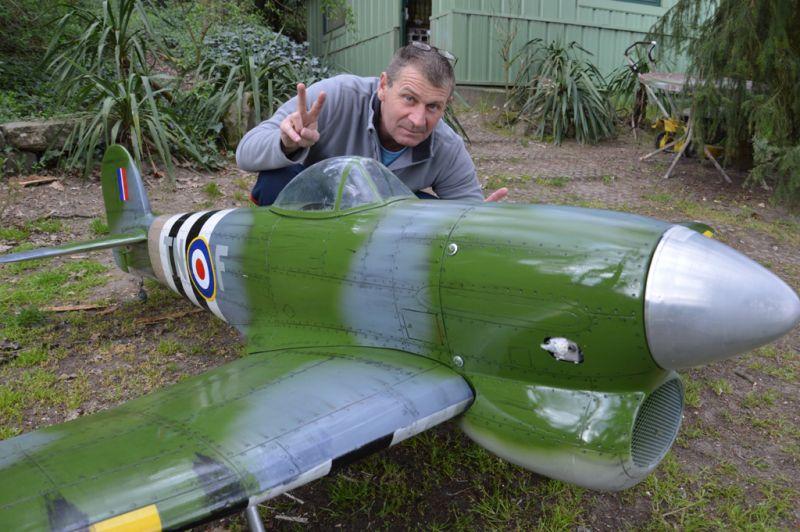 Hawker Typhoon Baudin air Plane Compagny 3
