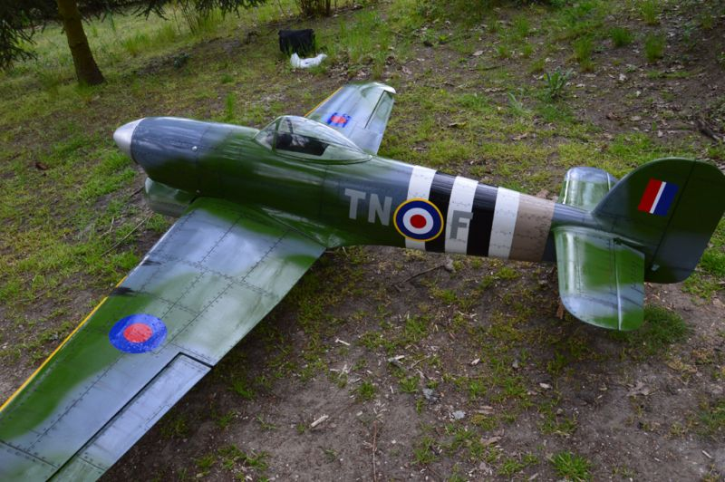 Hawker Typhoon Baudin air Plane Compagny 4