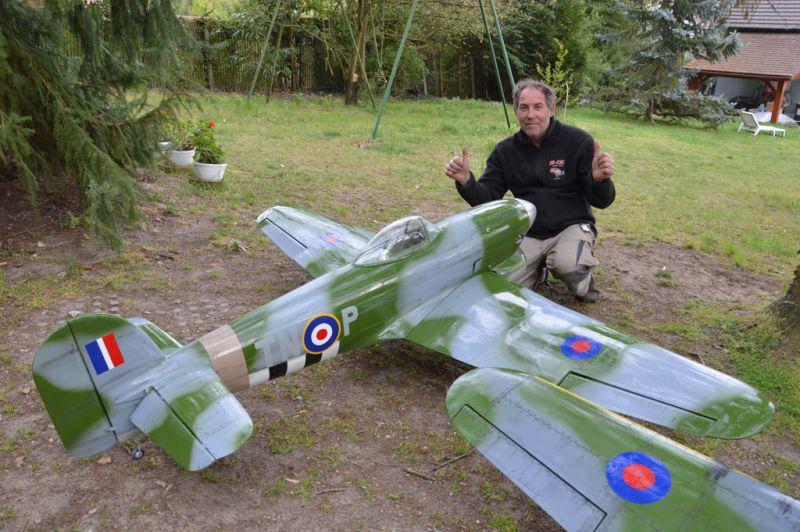 Hawker Typhoon Baudin air Plane Compagny 4