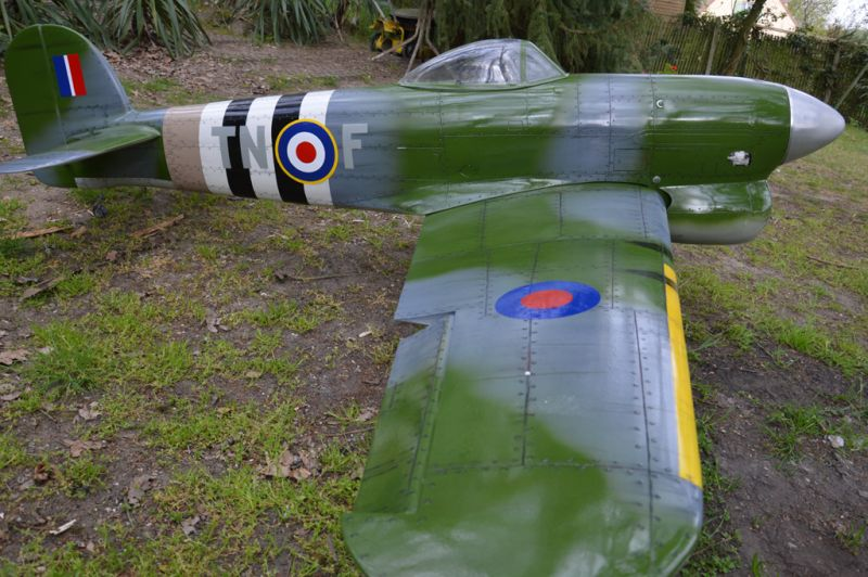 Hawker Typhoon Baudin air Plane Compagny 5