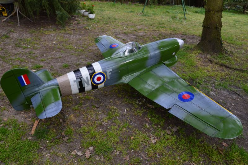 Hawker Typhoon Baudin air Plane Compagny 6