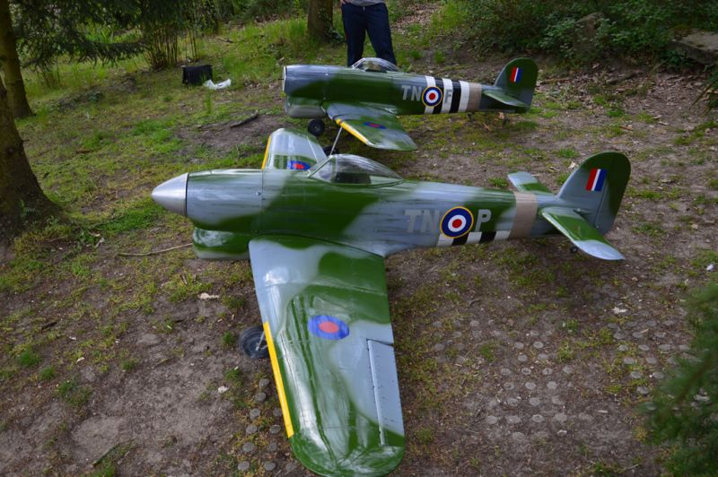 Hawker Typhoon Baudin air Plane Compagny 7