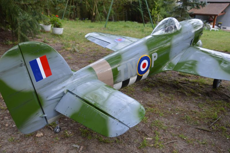 Hawker Typhoon Baudin air Plane Compagny 8