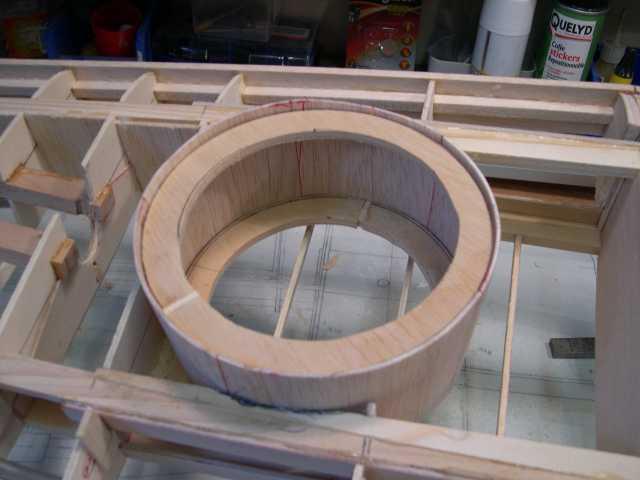 Mise en place du cylindre dans son logement
