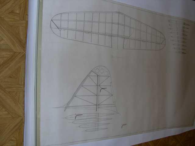 plan du stabilisateur et de la dérive, je vais compléter ce plan avec les cadres spécifiques au fuselage fibre